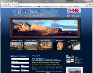 Cindy New Real Estate Website