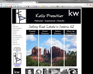 Kelly Preschler Real Estate Website