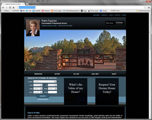 Pam Fazzini Real Estate Website
